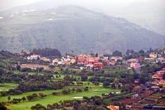 View form Pico de Bandama stock photography