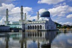 Kota Kinabalu City Mosque stock images