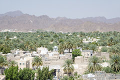 View from fort Nizwa Royalty Free Stock Photo