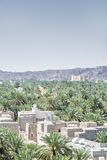 View from fort Nizwa Stock Images