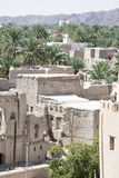 View from fort Nizwa Stock Photo