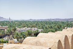 View from fort Nizwa Royalty Free Stock Photography