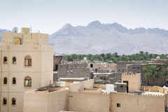 View from fort Nizwa Stock Photography