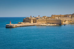 View of Fort Ricasoli Royalty Free Stock Image