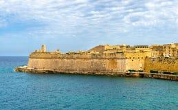 View of Fort Saint Elmo in Valletta. Malta stock photography