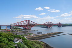 View of Forth Bridge Royalty Free Stock Photo