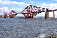 View of Forth Bridge, Scotland, UK Stock Photos