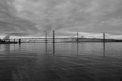 View of Forth Bridges Stock Photo