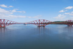 View of Forth Rail Bridge Stock Image