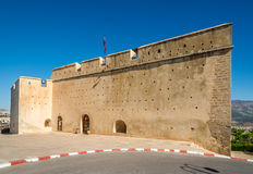 View at the fortification Borj Sud in Fez ,Morocco Royalty Free Stock Images