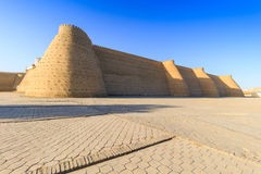 View of fortress Ark in Bukhara, Uzbekistan Royalty Free Stock Photo