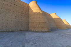 View of fortress Ark, Bukhara, Uzbekistan Royalty Free Stock Photography