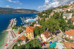 View from the fortress Forte Mare Herceg Novi Stock Photography