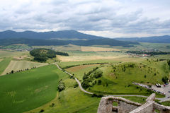View from fortress Royalty Free Stock Images