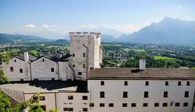 View from the fortress of Salzburg Stock Images