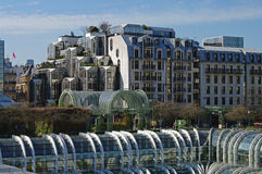 View on Forum des Halles, Paris Royalty Free Stock Photos