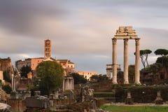 View of the Forum Romanum - Long Exposure version Stock Images