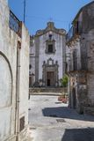 A View in Forza D`agro in Siciliy royalty free stock photos