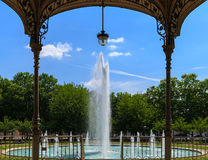View on fountain Royalty Free Stock Photography