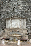 View of a fountain near of the city of Perugia Stock Photos