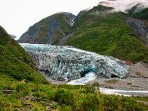 View of Fox Glacier, New Zealand royalty free stock photo