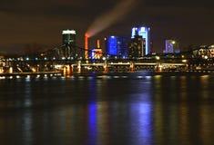 View of Frankfurt am Main. Germany Royalty Free Stock Photo