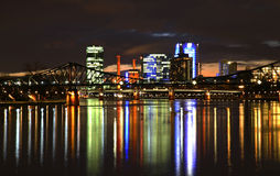 View of Frankfurt am Main. Germany Royalty Free Stock Images