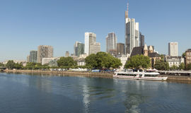 View of Frankfurt am Main, Germany Royalty Free Stock Image