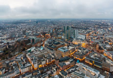 View of Frankfurt am Main - Hesse, Germany Royalty Free Stock Photography
