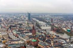 View of Frankfurt am Main - Hesse, Germany Stock Image