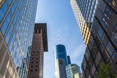 View of Frankfurt am Main skyline Stock Photos