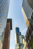 View of Frankfurt am Main skyline Royalty Free Stock Photo