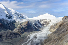 View of  Franz Josefs Hohe Glacier, Hohe Tauern National Park Royalty Free Stock Photos