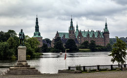 Frederiksborg castle in Hillerod, Denmark Royalty Free Stock Photos