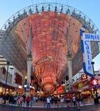 View of Fremont Street in Las Vegas royalty free stock photos