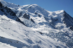 View of the French Alps Royalty Free Stock Image