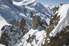 View of the French Alps Stock Photos