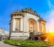 View of french city Lille Stock Photography