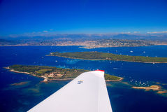View of the french riviera - Cote d Azur Stock Photo