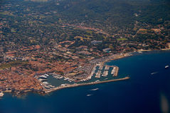 View of the french riviera - Cote d Azur Royalty Free Stock Image