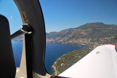 View of the french riviera - Cote d Azur Stock Images