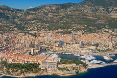 View of the french riviera - Cote d Azur Stock Image