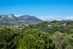 View of French Riviera Royalty Free Stock Photography