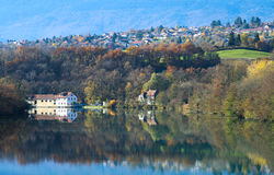 View on french town Royalty Free Stock Photography