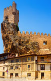 View of Frias castle Royalty Free Stock Images