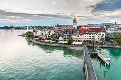 View of Friedrichshafen-Lake Constance,Germany Stock Photography