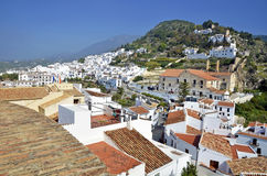View of Frigiliana Royalty Free Stock Photo