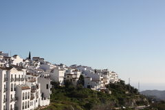 View From Frigiliana Village ( Spain ) Stock Image