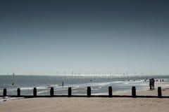 View of Frinton seafront Stock Photos