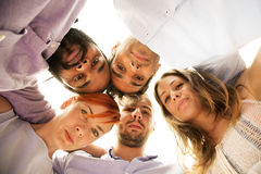 Free View From Below At Young People Royalty Free Stock Images - 75377919